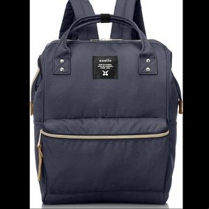 Anello Navy Backpack